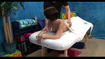 Undressed body massage
