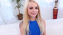 Elsa Jean Looks Petite and Innocent But Loves Cock