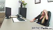 Britney Amber Fucks For The Job