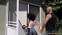 Petite ebony Ariana Aimes