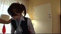 Stewardess Brunette Milf gets tricked into anal!