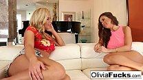 Olivia Austin and Abigail Mac fuck