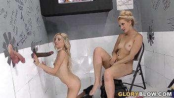 Piper Perri and Sierra Nicole Fucks BBC - Gloryhole