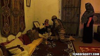 American soldiers visit arab whorehouse