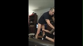 Daddy fucks bareback