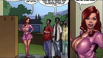 slutty Black mommy  [Full Comic]