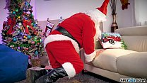 Spizoo - Watch Jessica Jaymes fucking Santa Claus, big boobs 11 min
