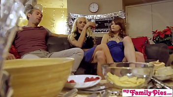 My Family Pies - Brother And Sister Threeway Fuck Into New Year S1:E3