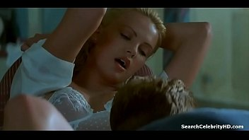 Charlize Theron Nude Tits, Lingerie and Makingout in 2 Days In The Valley