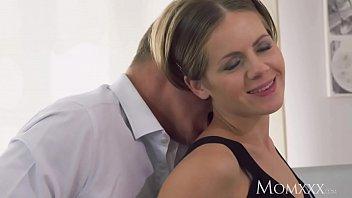 MOM Intimate lovers sensual creampie