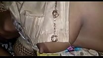 Desi wife Jhansi s. carelessly nipple show