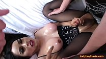3some with Shemales Kartoon And Jonelle Brooks