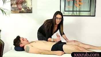 Big juggs masseuse screwed by her client
