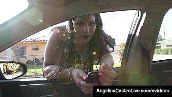 Cuban BBW Angelina Castro Sucks A Random Cock For Ride Home!