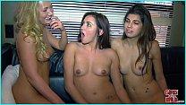 GIRLS GONE WILD - A 3 Way Lesbian Fantasy Cums True!