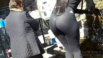 Holy s.!™ Latina Goddess See Thru Leggings  Big Tits Bubble Ass