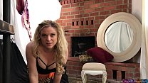Caught webcaming while babysitting - Erin Electra 25 min
