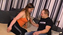 HAUSFRAU FICKEN - Amateur sex with German BBW housewife cheating her husband