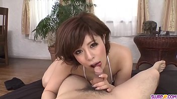Naked milf Ririsu Ayaka throats dick in fantastic scenes  - More at Slurpjp.com