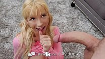 Tiny4k Playful teen Kenzie Reeves valentines day big dick fuck