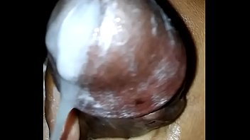Shooting Out A Lot of Creamy Cum