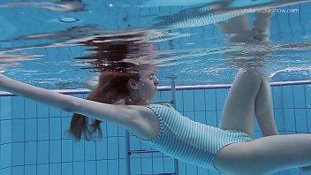 Anna Netrebko skinny tiny teen underwater 7 min