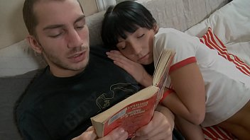 Cuddly Couple Getting Horny! 27 min