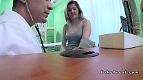 Doctor filming fucking blonde patient