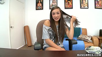 BANGBROS - Young and Slim Asian Beauty Arial Rose Gets A Facial