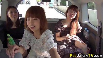 Real asians public piss