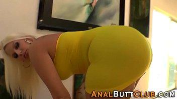 Hos big ass dildo fucked