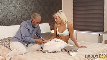 DADDY4K. Surprise your girlfriend and she will fuck with your dad