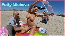 BANGBROS - Patty Michova & Christian Clay Beach Sex In Full View Of Public!