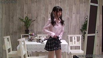 Japanese schoolgirl change uniforms