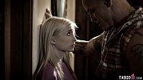 Petite teen stepdaughter pleases her bossy stepdad