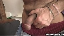 His GF shares his dad's cock with his mom