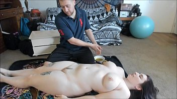 Busty Teen With Big Ass Gets Sexy Oil Massage