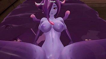 Monster Girl Island Demo - Eris The Demon Slime Scene Remake