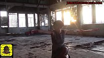 #JulietUncensoredRealityTV - PISSING  & Katana Photoshoot BTS