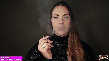 German smoking girl - Janina 3 Trailer