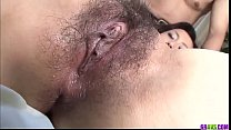 Top Hitomi Aizawa amazing sex and finger fucking  - More at 69avs com