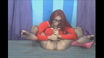 Big tits shemale suck her own 12 inch cock - TScamdolls.com
