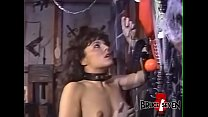 Lesbian femdom playing with her restrained submissive 8 min
