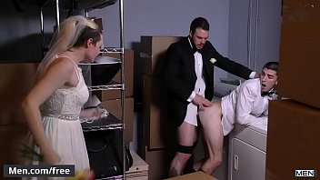 Men.com - (Cliff Jensen, Damien Kyle) - Runaway Groom - Str8 to Gay - Trailer preview