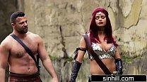 Busty Jessa Rhodes As Red Sonja - XXX Parody