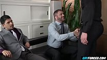Bareback in Office is Good For Business - GayForced.com