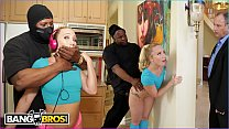 BANGBROS - AJ Applegate Gets Hate Fucked By Home Invader Behind Dad's Back