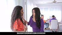 DaughterSwap - Horny Latina Teens (Demi Sutra) (Julz Gotti) Having an Orgy