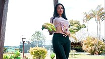 MAMACITAZ - #Mila Garcia - Sexy Latina Tastes Big Cock And Gets Fucked
