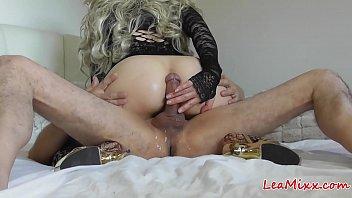 Multiple orgasms of Lea Mixx drive me crazy (part 2)